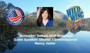 DeKalb GOP Breakfast @ Wild Wing Cafe | Dunwoody | Georgia | United States